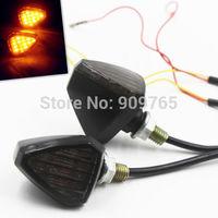 Universal LED TURN SIGNAL Light Indicator For Dual Sport Motorcycle Dirt Bike MINI Street Dual DR500 DR650S DR650SE DRZ110