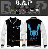 BAP baseball uniform Jang Daehyun Moon Jongup Kim Himchan Bang Yongguk / Zelo  kpop bts hoodie  sweatshirt B . a.p kpop coat