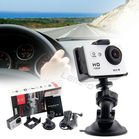 "Wireless Wifi 1080P Full HD Car Camera DVR Driving Recorder Detector Support SD 140 Wide Angel Multi Language With 1.5"" LCD New"