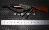 Wholesale 5pcs/pack 1/6 Scale Action Figure Accessories AK47 Automatic Rifle Gun Model For 12'' Action Figure Model Toy