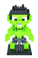 Loz gruond diamond diy assembling building blocks LOZ small particles diamond building blocks assembled League Avengers Hulk