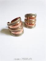 R208 Tibetan Antiqued Red Copper Man rings,Tibet finger Ring,wholesale Man Amulet Rings