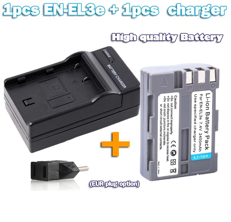 Аккумулятор Brandnew EN/el3e /en/el3a en/el3e el3a/enel3e + Nikon D70S D80 D90 D50 D300S D300 D100 D200 D700 EN-EL3e with charger esperadme en el cielo