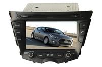 HY VELOSTER 2011--Touchscreen DVD GPS Navigation Radio Bluetooth Steering Wheel Control SD Card Slot/USB Rear Camara with Map