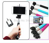 10pcs/lot new arrival Extendable Self Selfie Stick Handheld Monopod Tripod For mobile phone Gopro Hero sjcam sj4000 sj5000 plus