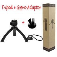 Portable Universal tripod and Gopro Adaptor for iPhone 6 5S 4 Samsung iOS&Andriol Phone Mini tripe para celuar CL-JJ01Gopro