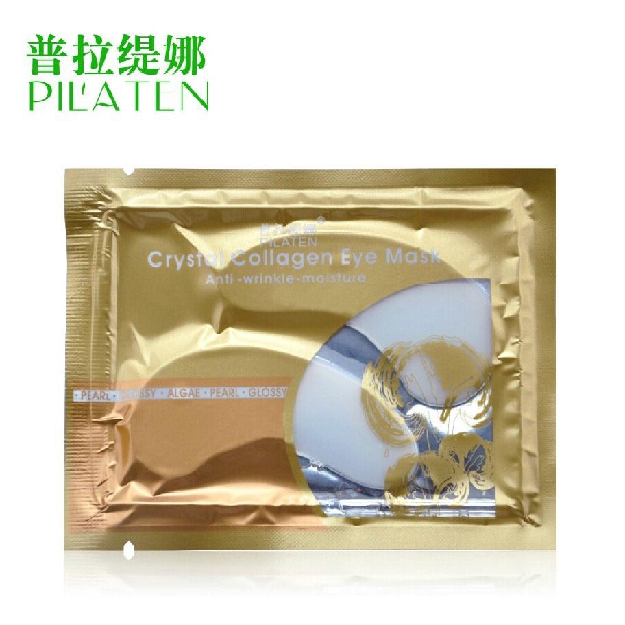 Free shipping!Pula Tina shipping 20 pairs Collagen Eye Mask puffiness dark circles eye mask replenishment to fine lines(China (Mainland))