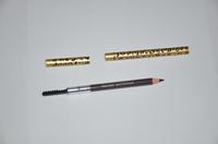 2015 New Cosmetics Sexy Leopard Waterproof Eyebrow Eye Brow Pencil & Brush Makeup Perfect Brown Eyeliner Pencil