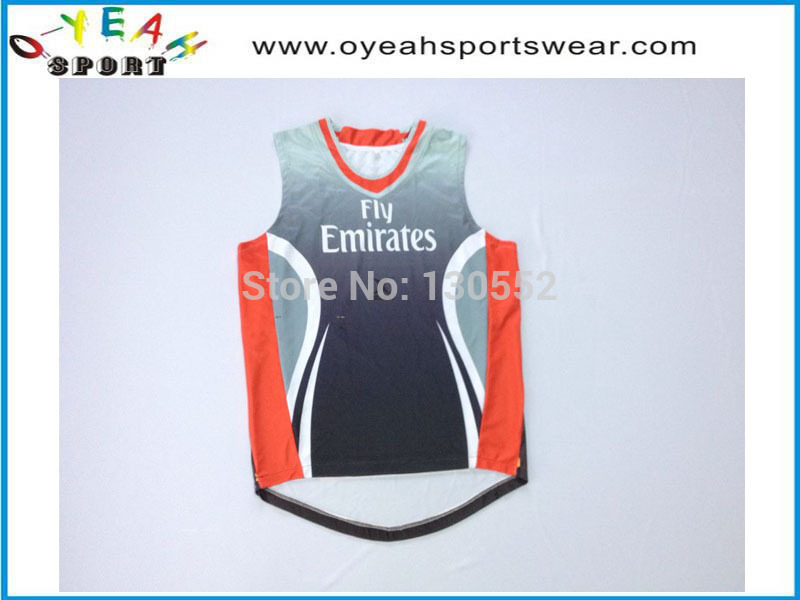 Comfortable custom unique design basketball jersey put on your own logo with high quality(China (Mainland))