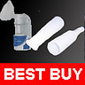 2 Replacement Spare Mouth Piece for Portable Nebulizer Nebuliser Respirator