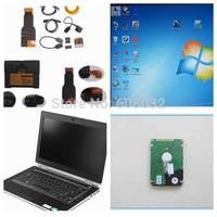 E6420 4G Laptop for BMW ICOM A2+B+C D:3.45.40 P:54.03 3 IN 1 Auto Dianostic Tool for BMW Programming& Diagnostis --Ready to Work