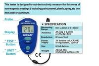 2014 EM2271 Digital LCD Coating Thickness Gauge Car Painting Thickness Tester Paint Thickness Meter DIY Instrument 0-80mil 0.1MM
