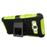 Hybird Armor 2 in 1 TPU PC Kickstand Robot Phone Case Cover For Samsung Galaxy A3