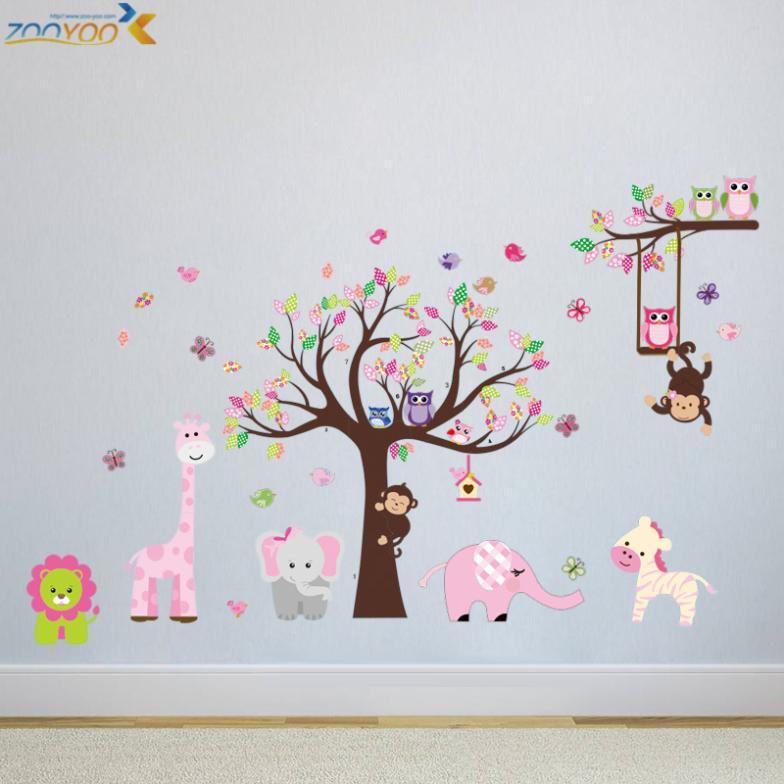Compra cuarto del beb arte de la pared online al por for Pegatinas para decorar habitaciones infantiles