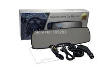 "Free shipping! 20pcs/lot 1080FHD 2.7"" LTPS Car Camera Rearview Mirror DVR Video Motion Detection Recorder Night Vision"