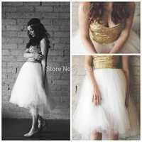 Gorgeous Gold Sequined Special occasion Dresses Vestidos de fiesta Custom Made 2014 Vestido de renda 2015 Sexy Prom Dresses