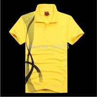 2015 new school uniform solid color lapel casual polo shirt jersey T-shirt dress Ban DIY custom printed logo printed numbers