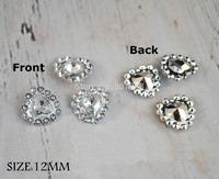 Free Shipping,12MM,500pcs/LOT, Mini Petite Round Sunflower Plastic Acrylic Rhinestone Gems MIXColors for flower center,XZ002