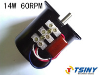 220V/14W/60rpm AC Synchronous motor,gearbox motor,free shipping