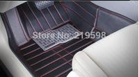 Floor mats for SRX ATS XTS 5 car stickers 5 seats 3 pcs/set free shipping customized models Available