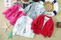 Retail 2015 new arrive children girls boys spring autumn jacket  children coat kids out wear children clothing free shipping