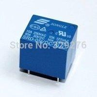 Free Shipping 50pcs/lot 5V SRD-5VDC-SL-C PCB SONGLE 5V T73 SRD-05VDC-SL-C
