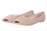 Big sale comfortable lady flat shoes