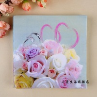 Wedding ring B26 60pcs/lot tissue paper napkin party supplies Napkin tissue wedding decorations factory direct sales