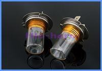 2pcs/lot High H7 Led headlights 7W high power super White cree car led light daytime running light DRL Fog Lamp Free Shipping