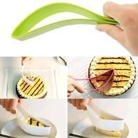 2015 2pcs/lot Cake Magisso Cake Knife DIY baking utensils silicone cake knife cutting knives Cookie cutter