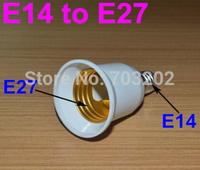 10pcs E14to E27 lamp base light Bulbs Adapter Converter NEW LED Halogen Light Bulb E14 to E27 Adapter lamp holder Free Shipping