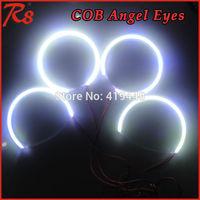 4 PCS/SET COB LED 2004-2008 MAZDA 3 ANGEL EYES HALO RINGS KIT HEADLIGHTS WHITE BLUE YELLOW RED GREEN
