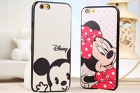 "For iphone 6 plus 5.5"" Case Silk Silicon Phone Cases Full Protection TPU Painting Hot Selling Cute Cartoon for iphone6 4.7"""