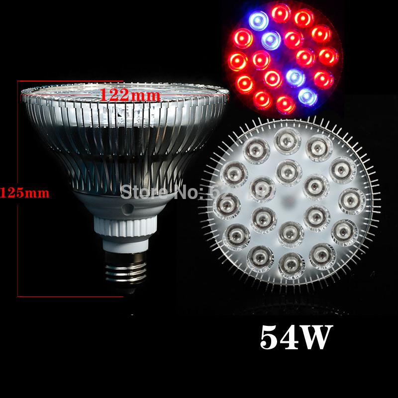 Освещение для растений Ouya 14Red:4Blue spectrum54W E27 54W led grow light