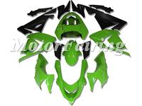 Green Black Motorcycle Body Kits ZX 10R 04-05  2004 ZX10R 2005 Fairings ZX10R  Factory Fairing For Kawasaki