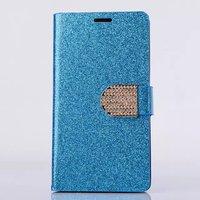 Luxury Bling Leather Shining Flip Wallet Case Cover For LG G3