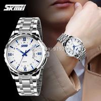 Free shipping 2015 fashion casual Men Personality watch Waterproof Quartz Calendar Business Wristwatches 6 colors---kjhg