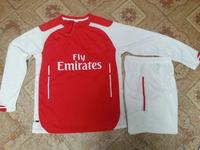 Long Sleeve Uniform 14 15 Thai 2015 Soccer Jersey Ozil Ramsey Giroud Alexis Sanchez Wilshere Soccer Uniform