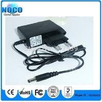 5pcs/Lot AC 100V-240V Converter Adapter DC 9V 1A Power Supply EU Plug DC 5.5mm x 2.1mm 1000mA for Arduimo UNO MEGA