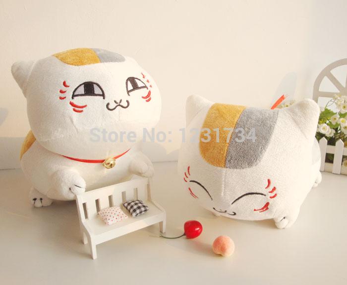 20cm 1pc plush cat toys, lovely Japan cartoon character soft dolls mini gift for girls boys, Cheap animal stuffed toys gift (China (Mainland))
