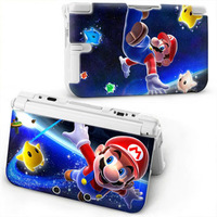 2014 New Cartoon M A R I O  Protective Hard Case Cover Skin For  3DS XL