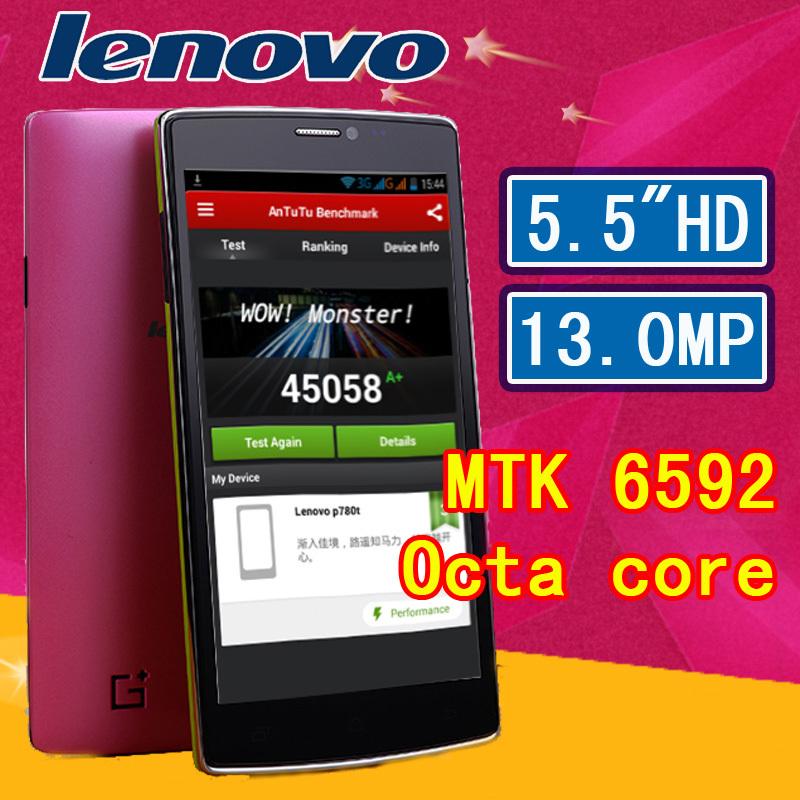 Original Lenovo S960 t MTK6592 Octa Core 13.0MP Mobile Phone 2G RAM 16G ROM Android 4.4 WCDMA GPS Dual SIM Cell Phones(China (Mainland))
