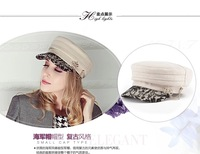 Free shipping, ms qiu dong outdoors wool hat, bud silk fashion warm cap, fashion hat
