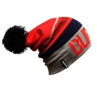 Burton snowboarding cap double knitting wool  pile cap 55-62 cm elastic head circumference  free  shipping