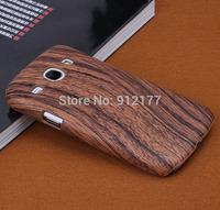 Wood Grain Design Hard Case Cover for Samsung Galaxy Core i8262 i8260 Case