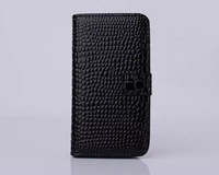 Hot phone case For iPhone 5G phone case Wallet PU Leather phone case for iphone 5 mobile phone case Free shipping