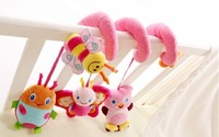 Baby mobile musical Baby Soft Toy Crib Toy Animal Friends Bed Around Toys sozzy pull ring (bee) baby rattles Free shipping!
