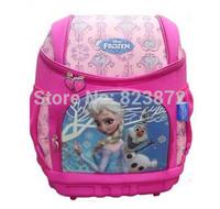 New 2015 Original Elsa Kids Backpacks Pink Children School Bags for Girls Mochila Schoolbag Orthopedic Waterproof