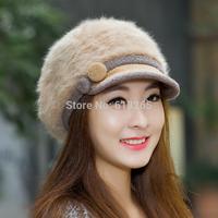 2015Free shipping, ms qiu dong outdoors wool hat, fashion warm cap, fashion hat
