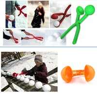 Colorful Snowball Maker for Winter Snowball Activities  Plastic Material Snowball clip,Kids favourite